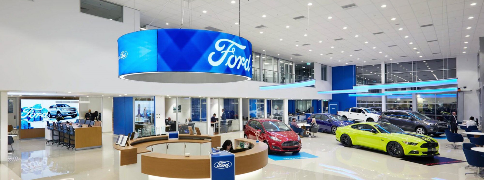 Using digital technology to take the Ford Trustmark Facility experience beyond expected