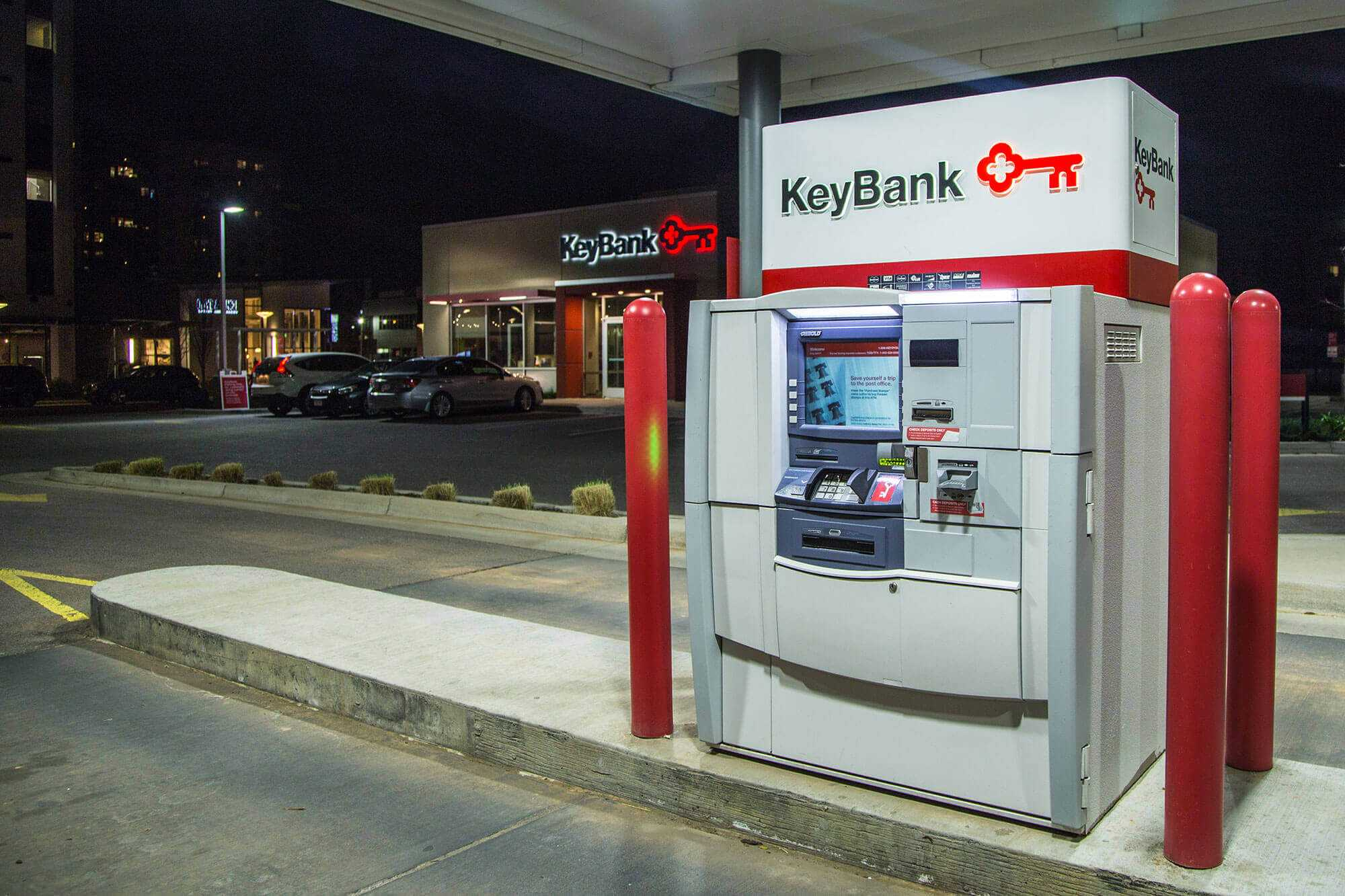 Transforming newly acquired locations into KeyBank brand